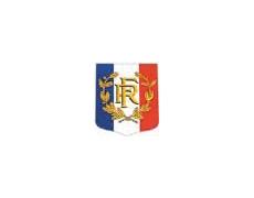 Ecussons porte-drapeaux RF Palmes