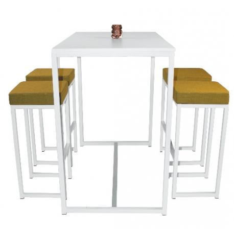 TABLE HAUTE RECTANGULAIRE KUBO - Equip\'cité