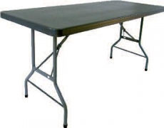 TABLE HDPE X-TRALIGHT ANTHRACITE