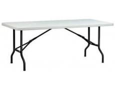 Table hdpe X-Tralight II - L.153 x 76 cm