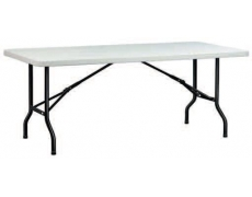 TABLE HDPE X-TRALIGHT II L.200 x 90 cm