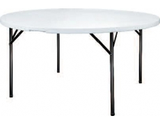 TABLE HDPE X-TRALIGHT RONDE Ø 122 CM