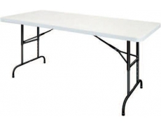 TABLE HDPE X-TRALIGHT AJUSTABLE 183 x 76 cm