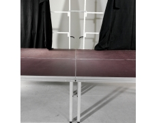 Fixation pour rideaux de scène fixe