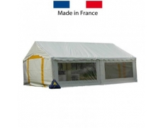 TENTE CEREMONIE ACIER PLEIN AIR 5 x 8 m - 40 m²