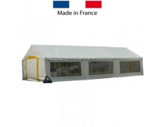 TENTE CEREMONIE ACIER PLEIN AIR 5 x 12 m - 60 m²