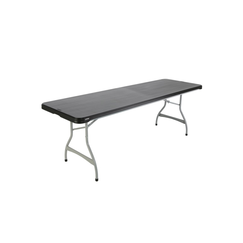 Table hdpe lifetime 183 x 76 cm equip 39 cit for Lifetime table pliante