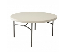 TABLE RONDE HDPE LIFETIME Ø 152 CM