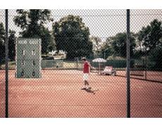 Filets de clôture terrain de tennis