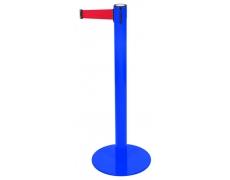 Poteau Ligne bleu - sangle rouge