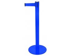 Poteau Ligne bleu - sangle bleu