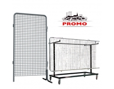"""PROMO"" 24 Grilles + Chariot Expo'com"