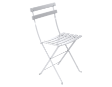 Chaise bistrot blanc coton