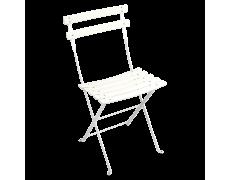 Chaise duraflon Bistro blanc coton