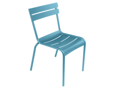 Fermob chaise Luxembourg bleu turquoise