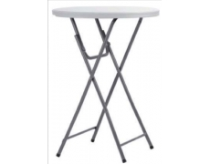 Table hdpe cocktail Ø. 80 H. 110 cm