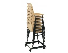 Socle rouleur pour chaises Denver ou Campus