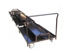 Chariot de transport poteaux
