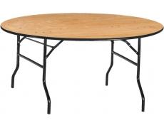 TABLE MULTIFONCTION RONDE Ø 152 CM