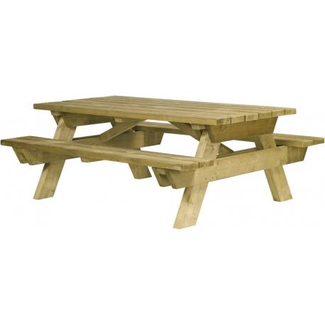 TABLE PIQUE-NIQUE BERLIN PMR (A SCELLER)