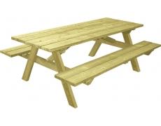 TABLE PIQUE-NIQUE MUNICH (A POSER) - L 200 CM