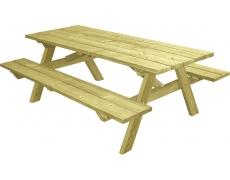 TABLE PIQUE-NIQUE MUNICH PMR (A POSER) - L 230 CM