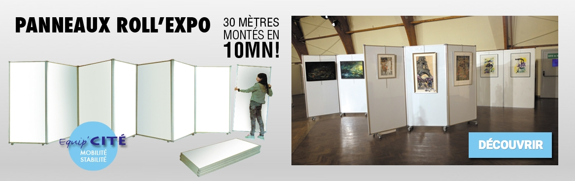 Panneau Roll'expo