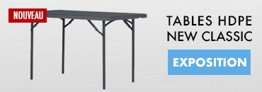 Tables HDPE New classic